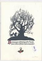 CPM GF (Silhouette) -19013- Scherenschnitt (édition Allemande  Pfleumer Zittau)- Prix Frais Compris - Silhouettes