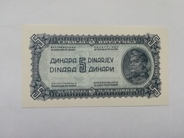 JUGOSLAVIA 5 DINARI 1944 - Jugoslavia