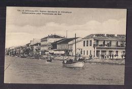 CPA 30 - LE GRAU-DU-ROI - Embarcadère Pour Promenade En Mer - TB PLAN Canal Et Bâteau - Jolie ANIMATION - Le Grau-du-Roi
