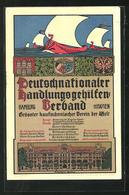 AK Hamburg, Deutschnationaler Handlungsgehilfen-Verband, Verbandshaus - Fairy Tales, Popular Stories & Legends