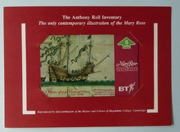 UK - BT - BTG667 - Mary Rose 2 - 605A - Limited Edition - Mint In Folder - BT General Issues
