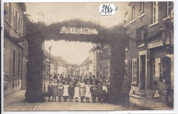 CARTE-PHOTO- 14 JUILLET 1919- FETE NATIONALE- GLOIRE A NOS ARMEES- ECRITE DE WASSEMBERG ? 57? 67? 68? ?? - A Identifier