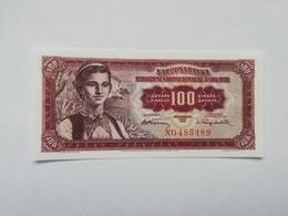 JUGOSLAVIA 100 DINARI 1955 - Jugoslavia