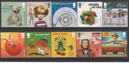 Great Britain MNH Michel Nr 4080/89 From 2017 / Catw 18.00 EUR - 1952-.... (Elizabeth II)