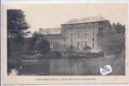 SAINT-BENOIT- MOULINS HENRI PIGANIOL- FACADE NORD - Saint Benoit