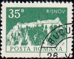 ROMANIA - Scott #2453 Risnov Citadel (*) / Used Stamp - 1948-.... Republics