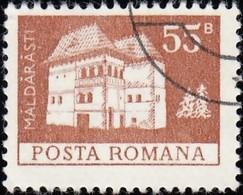 ROMANIA - Scott #2456 Maldaresti Fortress (*) / Used Stamp - 1948-.... Republics
