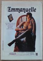 1 CP Vierge Affiche Film EMMANUELLE Sylvia KRISTEL - Posters On Cards