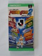 Super Famicom : J.League Soccer :  Prime Goal 2 SHVC-2H - Electronic Games