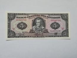 ECUADOR 5 SUCRES 1988 - Ecuador