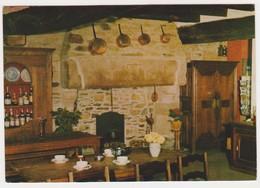 26609 Deux Cp Creperie Du Cloitre, Treguier -restaurant Interieur Cheminée Alcool Vaisselier- Gratiet 1973 - Tréguier