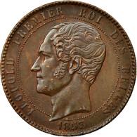 Monnaie, Belgique, 10 Centimes, 1853, SUP, Cuivre, KM:1.1 - 1831-1865: Léopold I