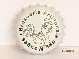Capsules Ou Plaques De Muselet   BIÈRE  BRASSERIE ARTISANALE DES MAUGES - Bière