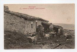 - CPA PIERRE-SUR-HAUTE (63) - Halte à La Jasserie 1912 (belle Animation) - Editions Gouttefangeas 164 - - France