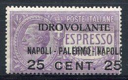 1917-ITALIA-AIR POST-1 VAL. M.N.H. LUXE !! - 1900-44 Vittorio Emanuele III