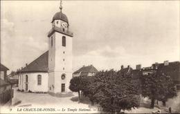 Cp La Chaux De Fonds Kt. Neuenburg Schweiz, Le Temple National, Kirche, Levy & Fils L.L. 9 - Illustrateurs & Photographes