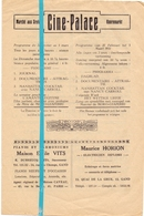 Ciné Cinema Bioscoop Pub Reclame Programma - Ciné Palace Gand Gent - 1931 - Publicité Cinématographique