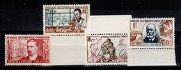 AOF - YV 47 / 48 / 49 / 50 N** Cote 6,60+ Euros - Unused Stamps