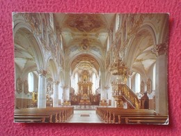 POSTAL POST CARD CARTE POSTALE SUIZA SUISSE SCHWEIZ SVIZZERA Switzerland MARIASTEIN KIRCHE WITH STAMPS Y SELLOS IGLESIA - Suiza