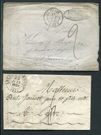 Frankreich / 4 Vorphila-Briefe (4/626-20) - 1801-1848: Précurseurs XIX