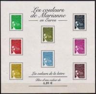 """Bloc Feuillet BF N°67 De 2004 """"Les Couleurs De Marianne En Euros"""" Neuf - Neufs"""