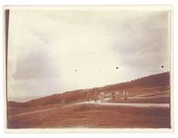 Photo Ancienne Personnes à Vélo, Rousset ( 13 BdR ) - Lieux