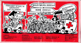 Sticker - Douane Wuustwezel Rome 2000 Km - 1978 - Autocollants