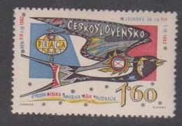 Czechoslovakia SG 1316 1962 F.I.P. Day ,mint Never  Hinged - Czechoslovakia