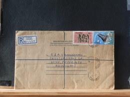 A8727    REGISTRED LETTER UGANDA - Uganda (1962-...)