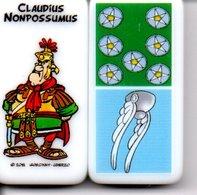 Claudius - Domino Astérix -  Figurine BD Jeu - Jeux De Société