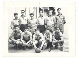 Photo équipe De Joueurs De Foot, Footballeurs ( Noms Marqués Au Verso ) - Sports