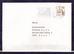 BRD, MiNr. 917 A; EF Auf Portoger. Brief In Bonn; B-1066 - [7] Federal Republic