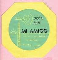 Sticker - DISCO BAR - MI AMIGO - Autocollants