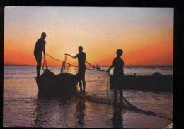 C293 - ETHIOPIA ETIOPIA - AWASA - FISHERMEN BOAT - Etiopia