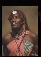 C300 KENYA - ETHNICS FOLKLORE COSTUMES WOMAN - MAASAI GIRL WOMAN - Kenia