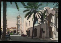 C302 LIBIA LIBYA - TRIPOLI - TORRE DELL'OROLOGIO CLOCK TOWER CIRC. 1957 - Libya