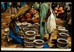 C315 NIGERIA - SOKOTO - DECORATED POTS POTTERY CIRC.1972 - Nigeria