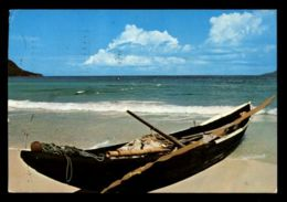 C319 SEYCHELLES - MAHE - PIROGUE CIRC. 1982 - Seychelles