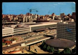 C320 SOUTH AFRICA - JOHANNESBURG - AIRWAYS BUILDINGS AND RAILWAY STATION CIRC. 1967 - Sud Africa