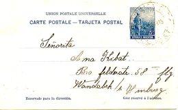 ARGENTINE. Carte Pré-timbrée Ayant Circulé En 1915. - Enteros Postales