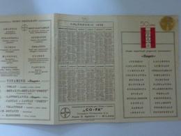 """Calendario """"50 ANNI MEDICINALI BAYER 1938"""" - Calendari"""