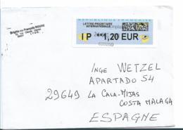 FS927 / Priority Brief Mit Automatenmarke - France