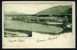 Castellamare Di Stabia Da Pozzano - Viaggiata 1901 - Rif. 16266 - Aversa