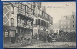 ROYE       Animées   + Cachet Poste Militaire   écrite En 1915 - Roye