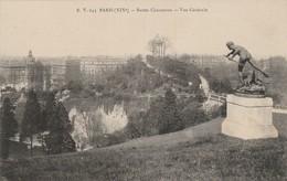 Paris : BUTTES CHAUMONT : Vue Générale - Arrondissement: 19