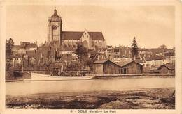 Dole Le Port Bateau De Plaisance Karrer 8 - Dole