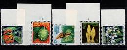 AOF - YV 68 à 72 N** BdF Flore Cote 8+ Euros - Unused Stamps