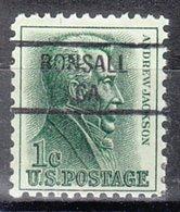 USA Precancel Vorausentwertung Preo, Locals California, Bonsall 841 - Etats-Unis