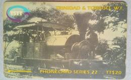 205CTTD First Train TT$20 C/n  Slash - Trinité & Tobago