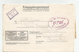 FRANCHIGIA PRIGIONIERI DI GUERRA OFLAG 83  26/9/1944 - 4. 1944-45 Repubblica Sociale